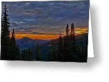 Rocky Mountain High Sunrise Greeting Card