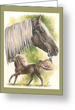 Rocky Mountain Horse Greeting Card