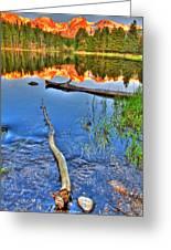 Rocky Mountain Lake Greeting Card