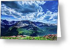 Rocky Mountain National Park I Greeting Card