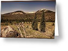 Rocky Mountain National Park Vintage Greeting Card