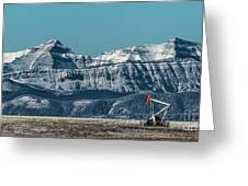 Rocky Mountain Oil Greeting Card