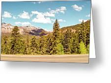 Rocky Mountain Panorama Greeting Card