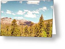 Rocky Mountain Panorama Too Greeting Card