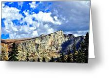 Rocky Mountain Summit Greeting Card