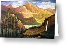 Rocky Mountain Sunrise Greeting Card