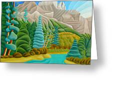 Rocky Mountain View 2 Greeting Card