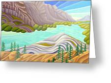 Rocky Mountain View 6 Greeting Card