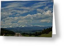 Colorado Rocky Mountain High Greeting Card