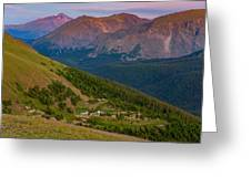 Rocky Mountain Wilderness Greeting Card