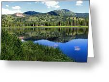 Rocky Mountains Majesty Greeting Card