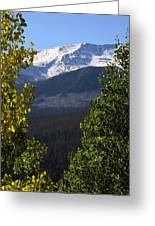 Rocky Mountains Mtn M 207 Greeting Card