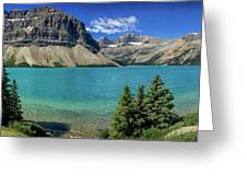 Rocky Mountains Panorama Greeting Card
