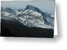 Rocky Mts Mtn M 203 Greeting Card
