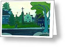 Rocky Neck Art Colony East Gloucester Ma Greeting Card