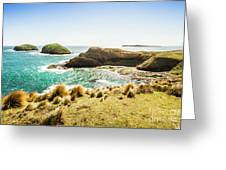 Rocky Ocean Capes Greeting Card