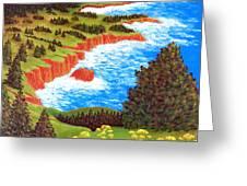 Rocky Oregon Coast Greeting Card