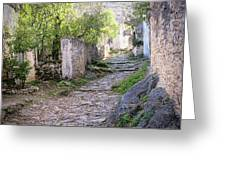 Rocky Pathway Greeting Card