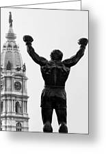 Rocky - Philly's Champ Greeting Card