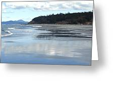 Rocky Point  Beach Wa Greeting Card