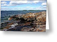 Rocky Point - Wreck Island Greeting Card