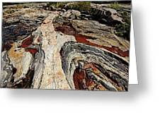 Rocky Pools - Wreck Island Greeting Card