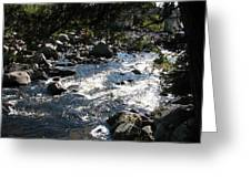 Rocky Rapids Greeting Card