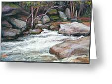 Rocky River Greeting Card