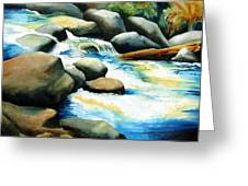 Rocky River Run Greeting Card