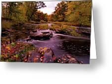 Rocky Run Creek Greeting Card