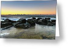 Rocky Seascape Greeting Card