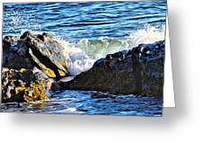 Rocky Shore 1 Greeting Card