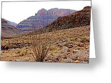 Rocky Slope Grand Canyon Greeting Card