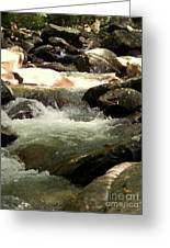 Rocky Stream 4 Greeting Card