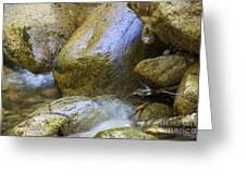 Rocky Water Closeup 2 Greeting Card