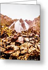 Rocky Water Wilderness Greeting Card