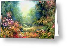 Rococo Delight Greeting Card by Hannibal Mane