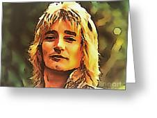 Rod Stewart Collection 1 Greeting Card