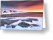 Rodebay Sunset Greeting Card