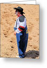 Rodeo Clowns Greeting Card