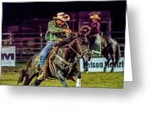 Rodeo Cowboy Greeting Card
