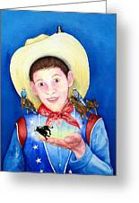 Rodeo Magic Greeting Card