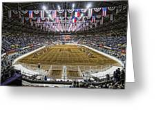 Rodeo Time In Texas Greeting Card