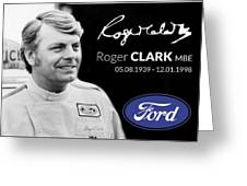 Rodger Clarke Greeting Card