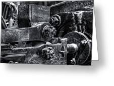 Rods Of Steel Greeting Card
