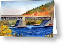 Roebling Aqueduct Bridge Greeting Card