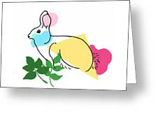 Roger Bunny Greeting Card
