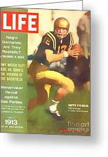 Roger Staubach 11-29-63 Greeting Card