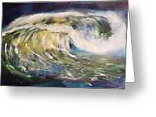 Rogue Wave Greeting Card