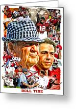 Roll Tide Greeting Card